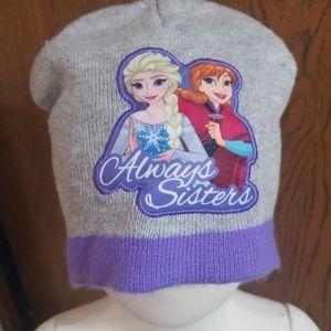 Disney's Frozen Anna Elsa Always Sisters beanie